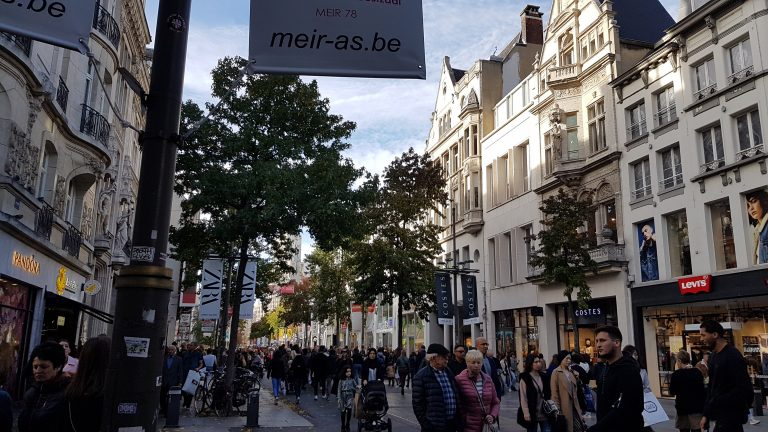 Refundit-shopping in Antwerp